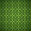 Vetorial Stock : Gothic seamless green wallpaper