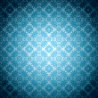 Gothic pale blue wallpaper — Stock Vector