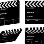 Film clapper variation — Stock Vector #3427179