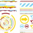 Royalty-Free Stock Vector Image: Design elements 1