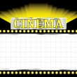 Royalty-Free Stock Vector Image: Deco cinema