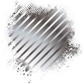 Metal splat — Stock Vector