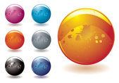 Marble blast — Stock Vector