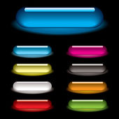 Lozenge glow black — Stock Vector