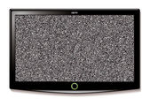 LCD TV Wall hang static — Stock Vector