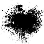 Ink splat dot — Stock Vector