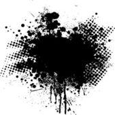 Ink splat dot — Stock Vector