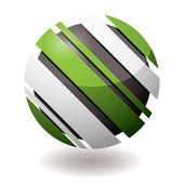 Icon droid slant — Stock Vector