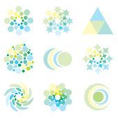 дизайн иконок — Cтоковый вектор