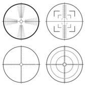 Chasse vue targets — Vecteur