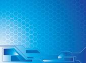 Honey data blue — Stock Vector