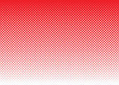 Halftone abstract background red — Stock Vector