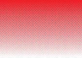 Noktalı resim arka plan kırmızı — Stok Vektör