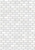 Grunge white brick wall — Stock Vector