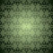 Green wallpaper stagger — Stock Vector