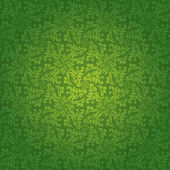 Green floral tile — Stock Vector