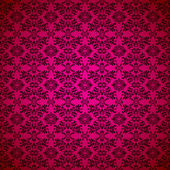 Gothic seamless pink wallpaper — Stock Vector
