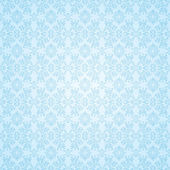 Gothic blue seamless wallpaper — Stockvector