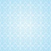 Gothic blue seamless wallpaper — Stock Vector