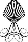 Coroa gótica — Vetor de Stock