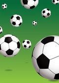Football green — Stock Vector