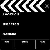 Klaket film — Stok Vektör