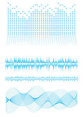 Equalizer type — Stock Vector