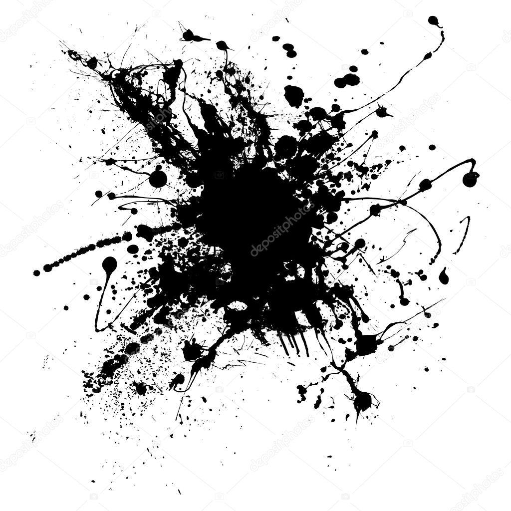 ink splatter one stock vector  u00a9 nicemonkey 3422355 color ink splatter vector ink splatter vector png