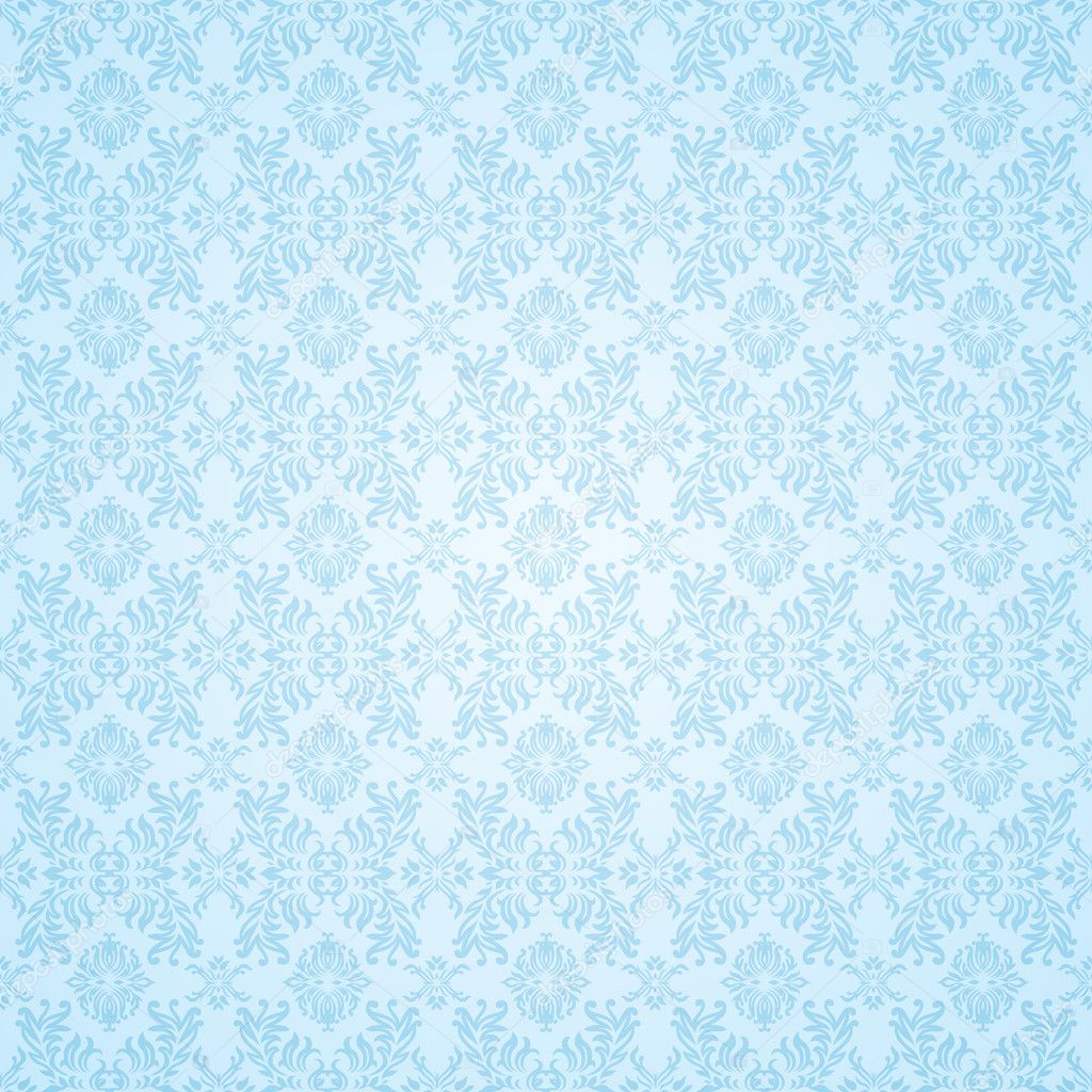 Pale Blue subtle seamless background wallpaper pattern — Stock Vector #3423961