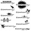 Stock Vector: Company logo