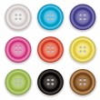 Royalty-Free Stock Vector Image: Clothes buttons icons