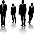 Business men - Imagens vectoriais em stock