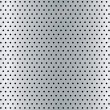 Brushed metal hole background - Imagen vectorial