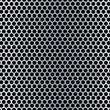 Brushed hexagon background — Imagens vectoriais em stock