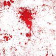 Stock Vector: Blood splatter wall