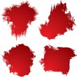 Stock Vector: Blood stain 4