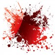 Blood red reflection — Stock Vector