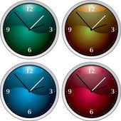Clock variation — Stock Vector