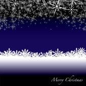 Christmas snow drift — Stock Vector