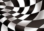Checkered flap — Stock Vector