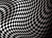 Checkered abstract — Stock Vector