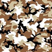 Camouflage desert — Stock Vector