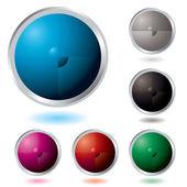 кнопка разделить — Cтоковый вектор