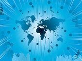 B świat biznesu — Wektor stockowy