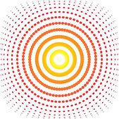 Bulge target — Stock Vector