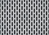 Oblongo metal cepillado — Vector de stock