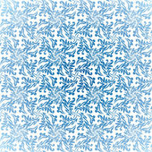 Luce floreale blu — Vettoriale Stock