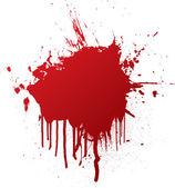 Blood splat — Stock Vector
