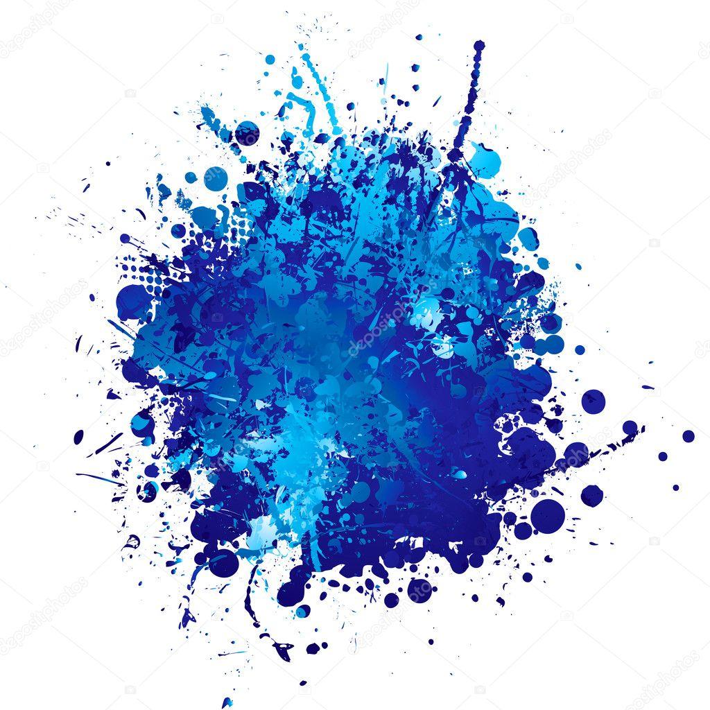 蓝墨水 splat