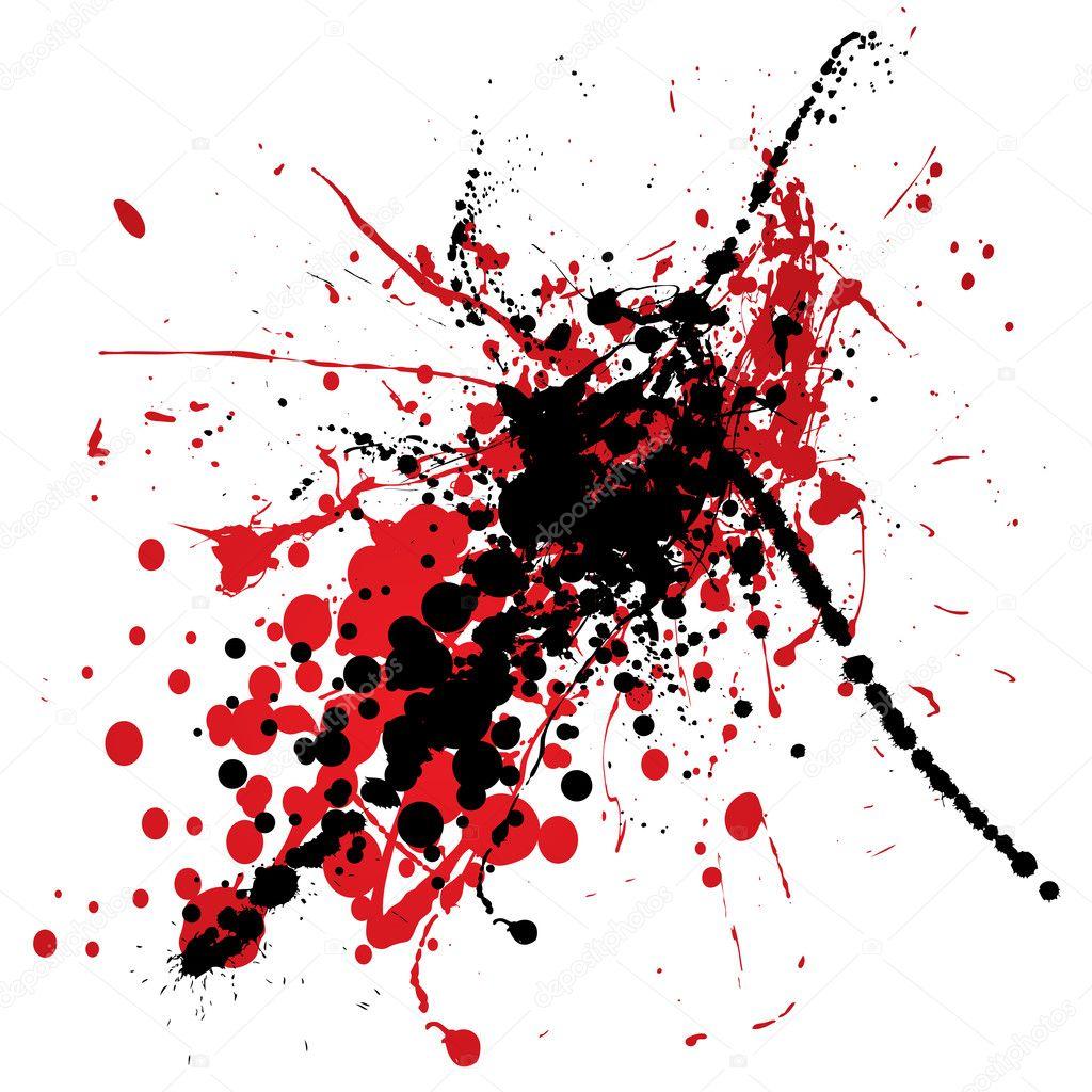Splat Of Blood